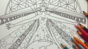 水晶画家・青山京古さん「自分とつながる女神ぬり絵」無料ダウンロード
